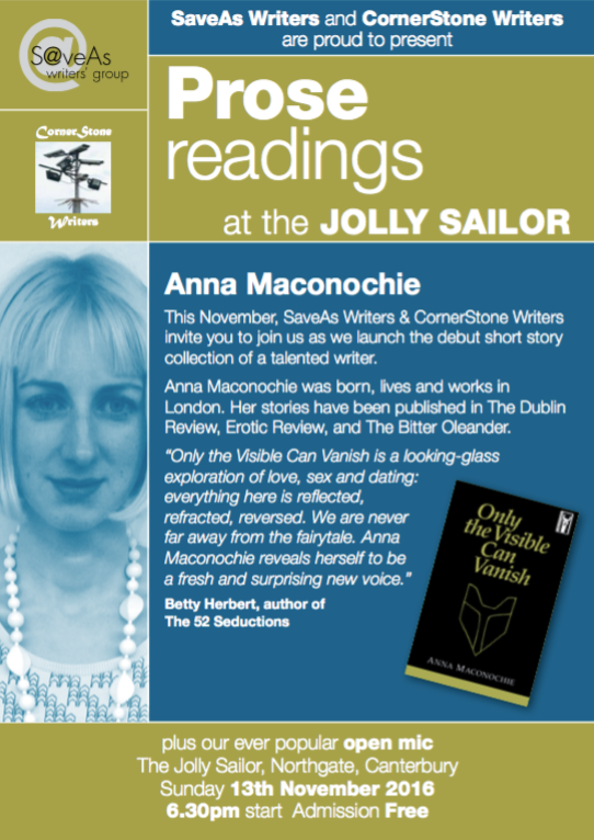 Anna Maconochie at The Jolly Sailor Poster